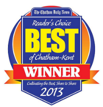 Chatham Daily News Best of Chatham Kent Reader's Choice 2013