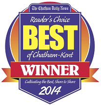 Chatham Daily News Best of Chatham Kent Reader's Choice 2014